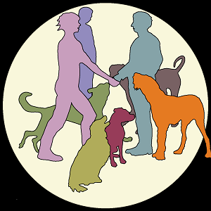 Freunde mit Hund
